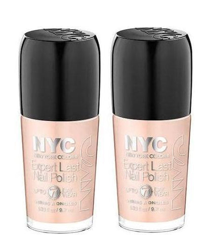 Lot Of  2 Nyc New York Color Expert Last Nail Polish, 165 Carried Away, Nail Polish, NYC, makeupdealsdirect-com, [variant_title], [option1]