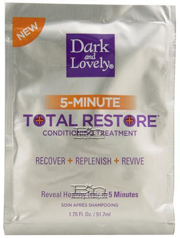 DARK AND LOVELY 5 MINUTE TOTAL RESTORE CONDITIONING TREATMENT, Shampoos & Conditioners, Dark and Lovely, makeupdealsdirect-com, [variant_title], [option1]