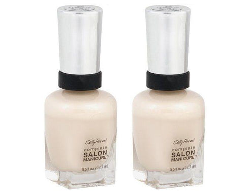 Lot Of 2 - Sally Hansen Salon Manicure Nail Color 130 Sheer Me Now, Nail Polish, Sally Hansen, makeupdealsdirect-com, [variant_title], [option1]