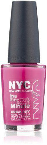 NYC In A New York Color 238 Moma Minute Quick Dry Nail Polish, Nail Polish, NYC, makeupdealsdirect-com, [variant_title], [option1]