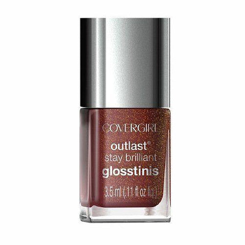 Covergirl Outlast Stay Brilliant Mini 615 Inferno 3.5ml, Nail Polish, CoverGirl  - MakeUpDealsDirect.com