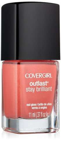COVERGIRL OUTLAST STAY BRILLIANT NAIL GLOSS 250 MY PAPAYA, Nail Polish, CoverGirl, makeupdealsdirect-com, [variant_title], [option1]