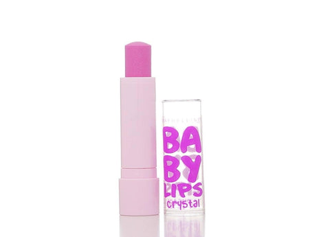 Maybelline New York Baby Lips Crystal Lip Balm, Beam Of Blush, Lip Balm & Treatments, Maybelline  - MakeUpDealsDirect.com
