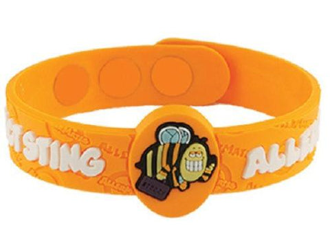 Allermates Allergy Alert Wristbands And Stickers YOU CHOOSE, Other Health Care Supplies, Allergy, makeupdealsdirect-com, Insect Sting Allergy Wristband, Insect Sting Allergy Wristband