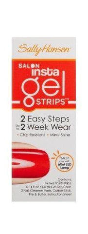 Sally Hansen INSTA GEL Strips, 16-Strips - Chip Resistant #250 - GET JUICED, Manicure/Pedicure Tools & Kits, Sally Hansen  - MakeUpDealsDirect.com