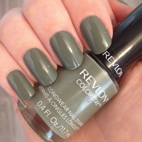 1 Revlon Color Stay SPANISH MOSS #190 Long Wear Nail Enamel Nail Polish, Nail Polish, Revlon, makeupdealsdirect-com, [variant_title], [option1]