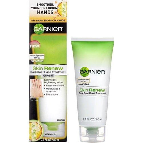 Garnier Skin Renew Dark Spot Hand Treatment Spf30, 2.7oz Choose Your Pack, Hand & Nail Treatment Creams, Garnier, makeupdealsdirect-com, Pack of 1, Pack of 1
