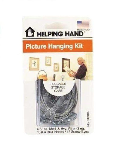 Generic Frame Hanging Kit Helping Hand ,AUTHANTIC MADE IN THE USA!!, Hooks & Hangers, Helping Hand  - MakeUpDealsDirect.com