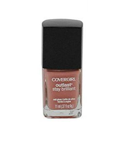 Covergirl Outlast Stay Brilliant Nail Gloss 150 Megawatt Mauve, Nail Polish, CoverGirl, makeupdealsdirect-com, [variant_title], [option1]