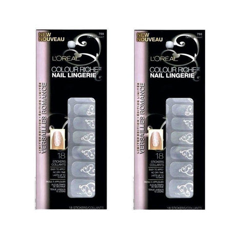 . (2 Pack) L'oreal Colour Riche Nail Lingerie, 708 Tart My Heart, Nail Art Accessories, L'Oreal  - MakeUpDealsDirect.com