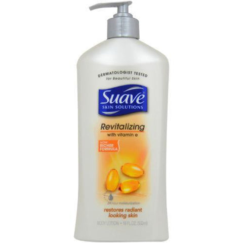 Suave 24hr Moisturizer Body Lotion Vitamin E Cocoa Butter Shea  Uchose, Body Lotions & Moisturizers, Suave, makeupdealsdirect-com, Revitalizing w/ Vitamin E, 18oz, Revitalizing w/ Vitamin E, 18oz