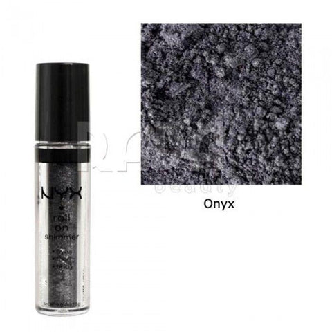 Nyx Roll on Shimmer Eye Shadow Face /body Shimmer (Choose Your Color), Eye Shadow, NYX, makeupdealsdirect-com, Onyx RES04 hs2416, Onyx RES04 hs2416