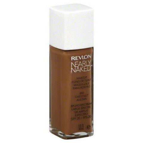"Revlon Nearly Naked Liquid Makeup Broad Spectrum Spf 20 230 Nutmeg,""Your Pack"", Foundation, Revlon, makeupdealsdirect-com, PACK 1, PACK 1"