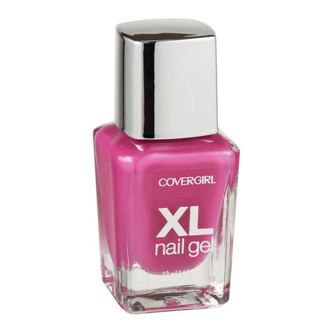 Covergirl XL Nail Gel Polish, Choose Your Color, Nail Polish, Covergirl, makeupdealsdirect-com, 710 whole lotta guava, 710 whole lotta guava