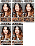 L'Oreal Paris Feria Intense Ombre Hair Color, Soft Black To Black O40, Hair Color, L'Oreal, makeupdealsdirect-com, Pack of 5, Pack of 5