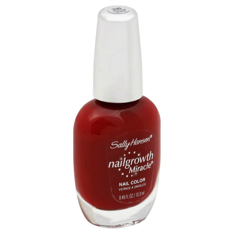 "Sally Hansen Nailgrowth Miracle Nail Color ""Choose Your Shade!"", Nail Polish, Sally Hansen, makeupdealsdirect-com, 330 Stunning Scarlet, 330 Stunning Scarlet"
