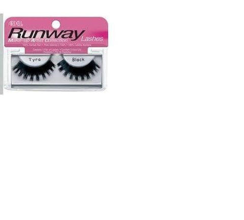 Ardell Runway Lashes Make-Up Collection, Choose Your Style, False Eyelashes & Adhesives, Ardell, makeupdealsdirect-com, Tyra Black, Tyra Black