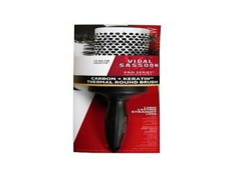 Vidal Sassoon Pro Series Carbon And Keratin Thermal Round Hair Brush, Brushes & Combs, Vidal Sassoon  - MakeUpDealsDirect.com
