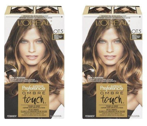 L'oreal Superior Preference Ombre Touch, Ot5 For Medium Brown Hair Choose Pack, Hair Color, L'Oreal, makeupdealsdirect-com, Pack of 1, Pack of 1