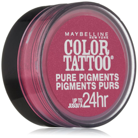 MAYBELLINE COLOR TATTOO PURE PIGMENTS EYE SHADOW #20 PINK REBEL, Eye Shadow, Maybelline, makeupdealsdirect-com, [variant_title], [option1]