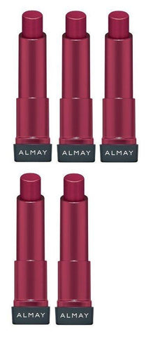 Lot of 5 - Almay Smart Shade Butter Kiss Lipstick, Red Medium/120, Lipstick, almay  - MakeUpDealsDirect.com