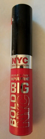 Nyc New York Color Plumping Lip Gloss Big Bold # 472 Coral To The Max, Lip Gloss, NYC  - MakeUpDealsDirect.com
