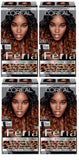 L'Oreal Paris Feria Intense Ombre Hair Color, Black O30, Hair Color, Black, makeupdealsdirect-com, Pack of 4, Pack of 4