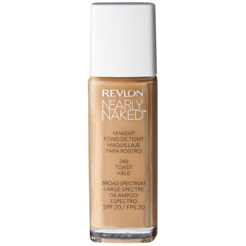 Revlon  #240 Toast Hale SPF20 Nearly Naked Makeup, Foundation, Revlon, makeupdealsdirect-com, [variant_title], [option1]