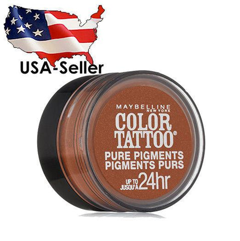 MAYBELLINE - 35 BREAKING BRONZE COLOR TATTOO PURE PIGMENTS EYE SHADOW, Eye Shadow, Maybelline, makeupdealsdirect-com, [variant_title], [option1]