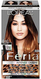 L'Oreal Paris Feria Intense Ombre Hair Color, Soft Black To Black O40, Hair Color, L'Oreal, makeupdealsdirect-com, Pack of 1, Pack of 1