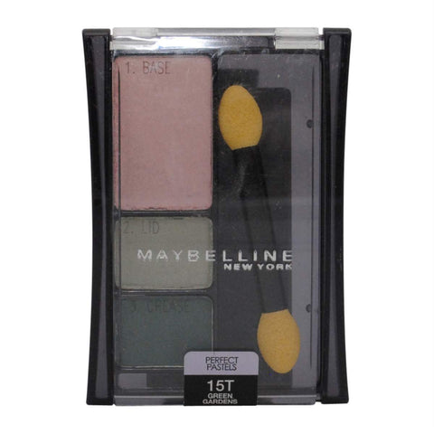 Maybelline - 15T Green Gardens - Expert Wear Eyeshadow, Eye Shadow, Maybelline, makeupdealsdirect-com, [variant_title], [option1]