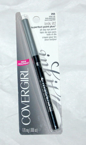 CoverGirl By Perfect Point Plus All Day Eye Pencil Liner SILVER INK 255, Eyeliner, CoverGirl, makeupdealsdirect-com, [variant_title], [option1]