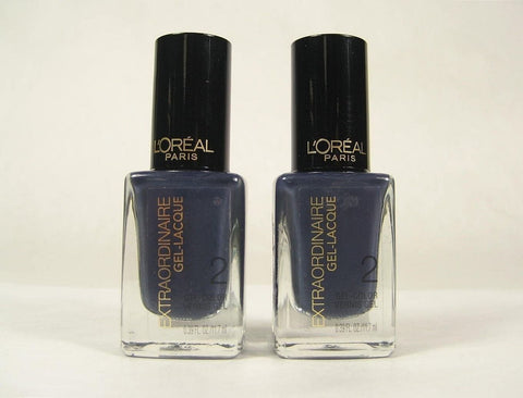 Pack of 2 L'Oreal Extraordinaire Gel Lacque, 718 Elegance is Innate, Nail Polish, L'Oréal  - MakeUpDealsDirect.com