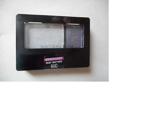Maybelline ExpertWear Eyeshadow Duo, Choose Your Shade, Eye Shadow, Maybelline, makeupdealsdirect-com, 80D Grey Matters, 80D Grey Matters
