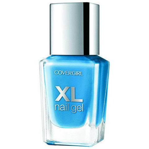 Covergirl XL Nail Gel Polish, Choose Your Color, Nail Polish, Covergirl, makeupdealsdirect-com, 760 buxom blue, 760 buxom blue