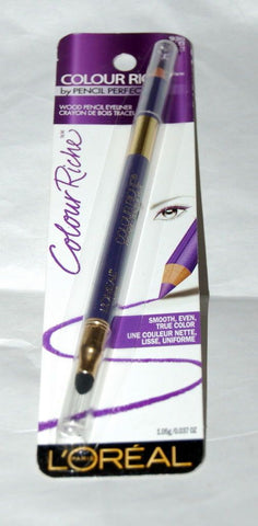 L'OREAL  #930 VIOLET COLOUR RICHE WOOD PENCIL EYELINER, Eyeliner, L'OREAL  - MakeUpDealsDirect.com