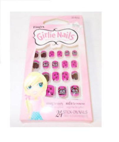 Fing'rs Girlie Stick On Nails 24 Nails HALLOWEEN BATS, Other Health & Beauty, Fing'rs  - MakeUpDealsDirect.com
