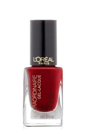 Loreal Paris Extraordinaire Gel-lacque 1-2-3 Nail Color, Hot Couture, 0.39 Fluid, Nail Polish, L'Oreal, makeupdealsdirect-com, [variant_title], [option1]