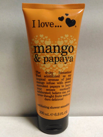 I Love Mango & Papaya Exfoliating Shower Smoothie 6.8 Fl Oz, Body Washes & Shower Gels, I Love...  - MakeUpDealsDirect.com