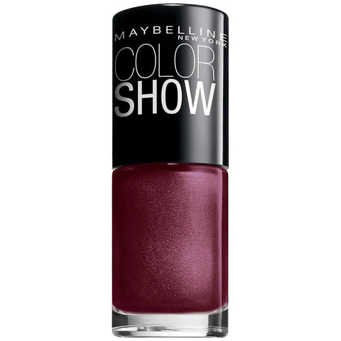 Maybelline Color Show Nail Lacquer Polish Wine & Dined 420, Nail Polish, Maybelline, makeupdealsdirect-com, [variant_title], [option1]