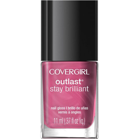 CoverGirl Outlast Stay Brilliant Nail Polish CHOOSE YOUR COLOR, Nail Polish, Covergirl, makeupdealsdirect-com, 40 Petal Power, 40 Petal Power