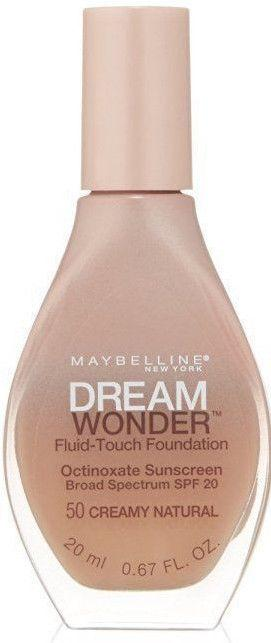 "Maybelline New York Dream Wonder Fluid-Touch Foundation ""CHOOSE YOUR SHADE"", Foundation, Maybelline, makeupdealsdirect-com, #50 Creamy Natural, #50 Creamy Natural"