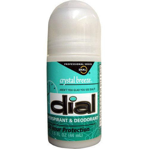 New Dial Crystal Breeze Anti-perspirant Deodorant Roll-on 1.5oz Rare Discontinue, Deodorants & Antiperspirants, Dial  - MakeUpDealsDirect.com