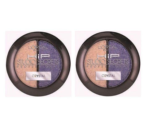 2 Pack - L'oreal Hip Studio Secrets Professional Crystal Eyeshadow, 519 Charming, Eye Shadow, L'Oreal, makeupdealsdirect-com, [variant_title], [option1]