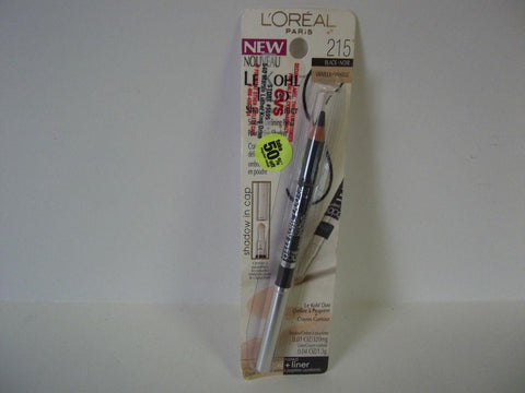 L'Oreal LE KOHL DUO Defining Pencil Eyeshadow ##BLACK VANILLA 215, Eye Shadow, L'Oréal  - MakeUpDealsDirect.com
