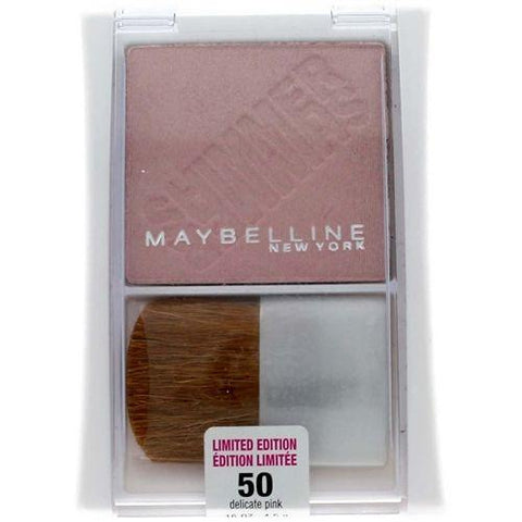 Maybelline Expert Wear Shimmer Powder #50 Delicate Pink (Limited Edition), Blush, Limited Edition, makeupdealsdirect-com, [variant_title], [option1]