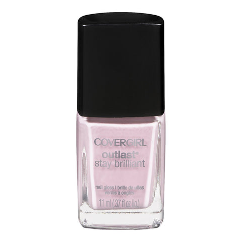 Covergirl Outlast Stay Brilliant 140 Pink-finity, Nail Polish, CoverGirl  - MakeUpDealsDirect.com