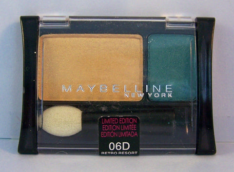 Maybelline Expert Wear Eye Shadow, 06d Retro Resort, Eye Shadow, Maybelline, makeupdealsdirect-com, [variant_title], [option1]