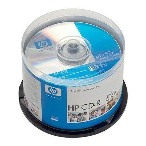 HP CD CD-R 50 Pk  52X 80MIN 700MB Blank NEW SEALED, CD, DVD & Blu-ray Discs, HP, makeupdealsdirect-com, [variant_title], [option1]
