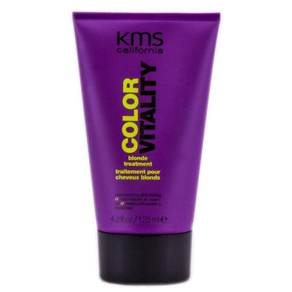 KMS California Color Vitality Blonde Treatment Restructuring And Toning 4.2oz, Other Hair Care & Styling, KMS, makeupdealsdirect-com, [variant_title], [option1]